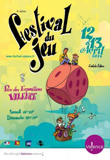 Valence, French boardgaming event