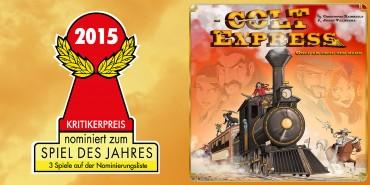 Colt Express sélectionné pour le Spiel des Jahres