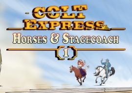 Colt Express – Horses & Stagecoach