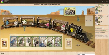 Play Colt Express online on Board Game Arena