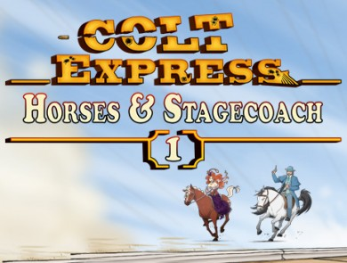 Colt Express – Horses & Stagecoach