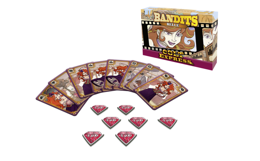 Belle: Colt Express Bandits Expansion -  Asmodee