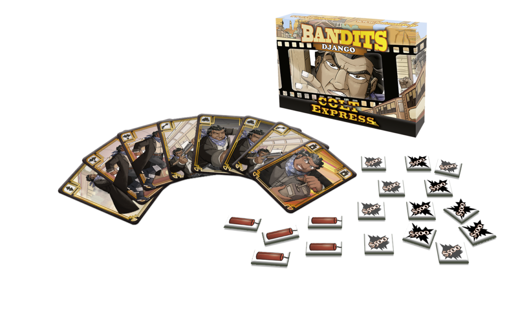 Django: Colt Express Bandits Expansion  -  Asmodee