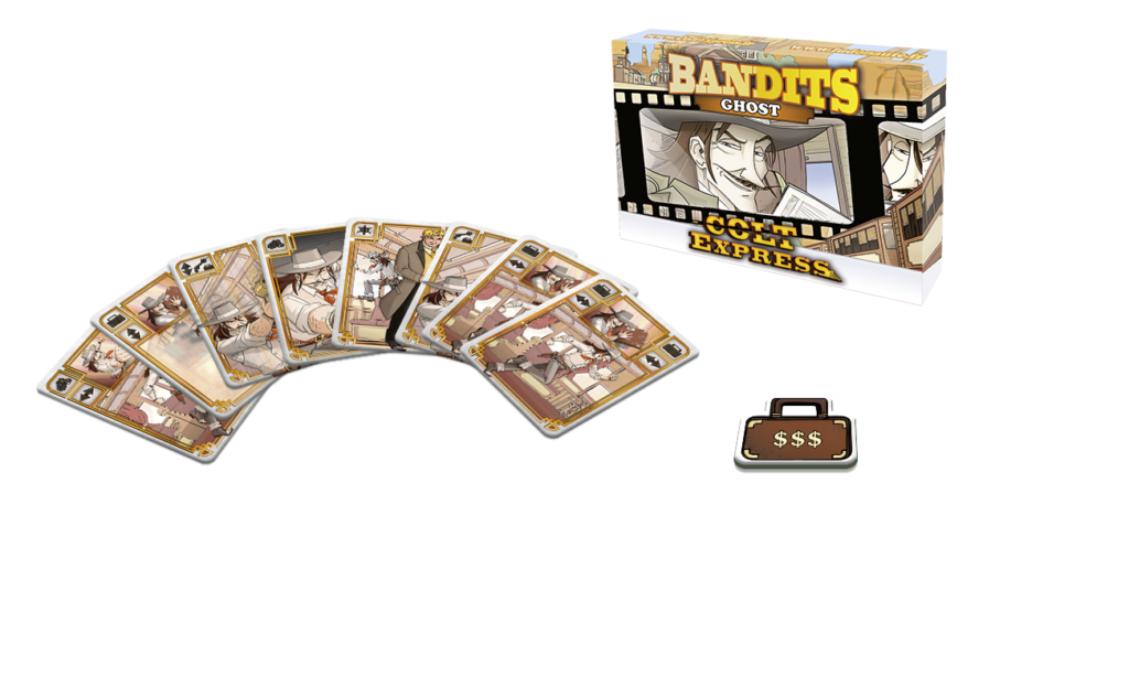 Ghost: Colt Express Bandits Expansion  -  Asmodee