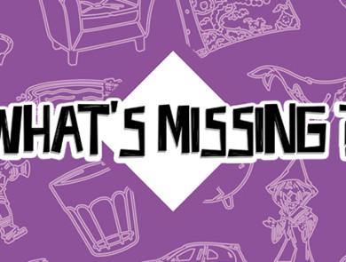 What's Missing? Version violette
